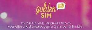 Jeux Bouygues Golden Sim
